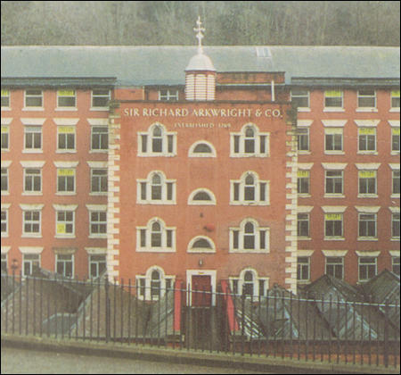 Photograph of Richard Arkwright's Cromford factory (1992)