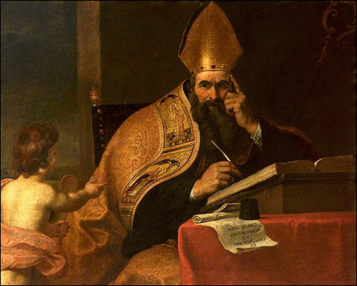 Gerard Seghers, Saint Augustine of Hippo (c. 1630)