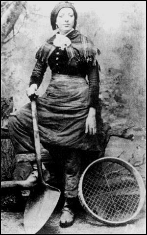 Woman coalminer (1864)
