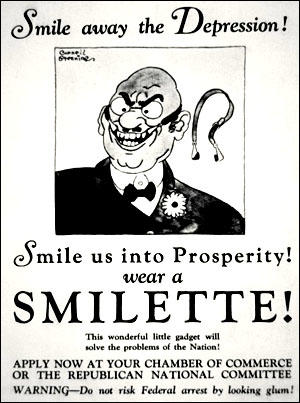 (Source 3) Poster published by the Democratic Party (1932)