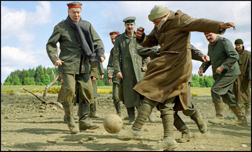 The Christmas Truce Football Game in 1914