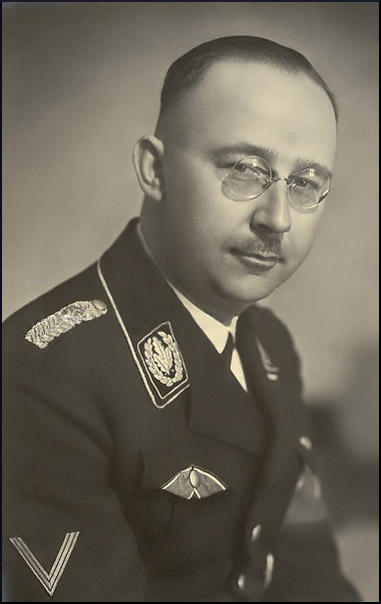 heinrich himmler Ss reichführer himmler represents the true embodiment of evil in the 20th century he grew up in a middleclass german family his father was the headmaster at a.