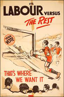 Labour Party poster for the 1924 General Election.