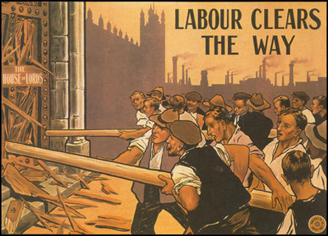 Labour Party poster on the House of Lords (1910)