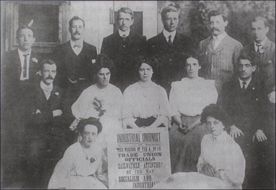 Members of the Industrial Unionist Group at Ruskin College (1908)