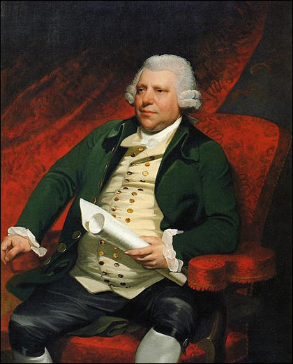 Sir Richard Arkwright by Mather Brown (1790)