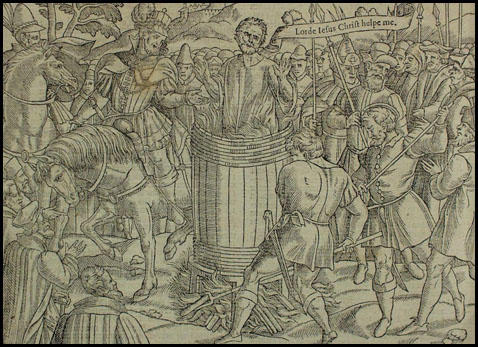 The death of William Tyndale (1563)