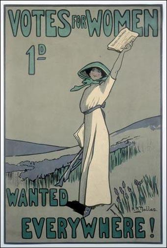 Votes for Women poster (1909)