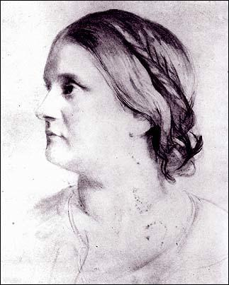 Barbara Leigh Smith by Samuel Laurence (c. 1855)
