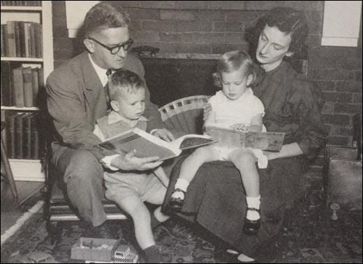 Carl and Anne Braden with James and Elizabeth (c. 1952)