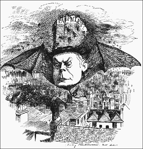 Charles Bradlaugh, Punch Magazine (1st January 1881)
