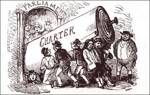 Third Chartist PetitionPunch Magazine (April, 1848)