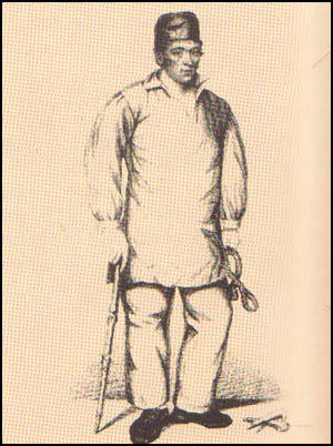 John Evans was a miner at Minera Colliery in Bersham. After an accident in 1819 he was buried underground without food or light for twelve days.