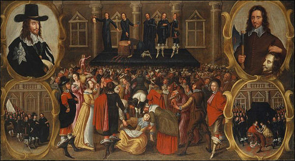 (Source 1) The Execution of Charles I of England (c. 1649)