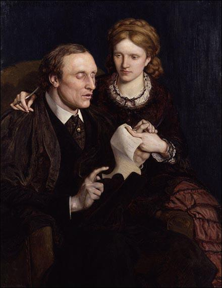 Ford Madox Brown, Henry and Millicent Fawcett (1872)
