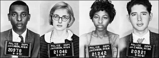 Over 400 Freedom Riders were arrested during the campaign (May, 1961)