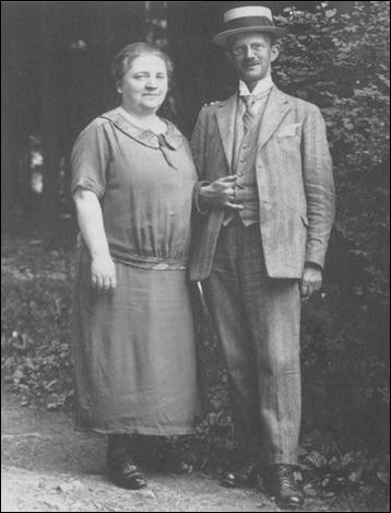 Rosa Krause Fromm and Naphtali Fromm