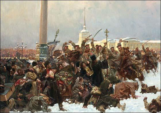 Wojciech Kossak, Bloody Sunday (May, 1905)