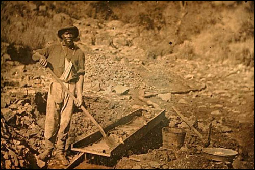 What is the purpose of mining gold, etc., as it just a ...