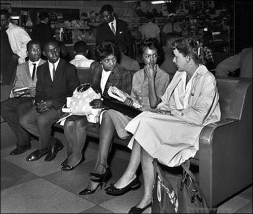 John Lewis, Charles Butler, Catherine Burks, Lucretia R. Collins, and Salynn McCollum on 17th May, 1961.