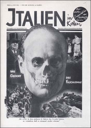 John Heartfield, Face of Fascism (1928) (Copyright The Official John Heartfield Exhibition & Archive)