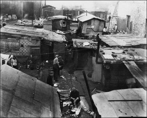 (Source 1) Hooverville in Seattle (1934)
