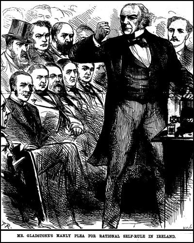 Drawing of Charles Bradlaugh beingevicted from the House of Commons in 1880