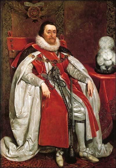 Daniel Mytens, James VI of Scotland and James I of England (1621)