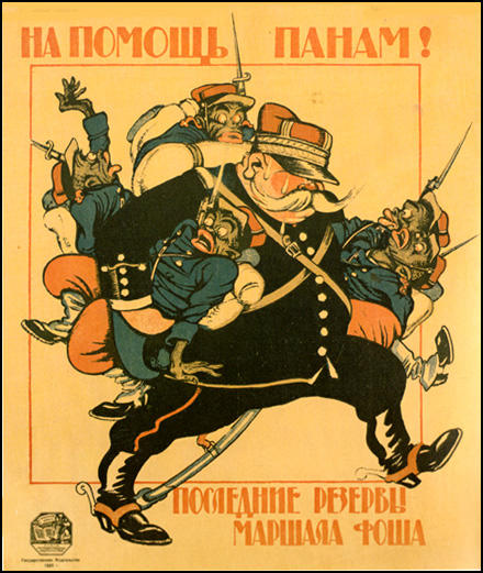 Dmitry Moor, Help for Polish nobles. The Last reserve of Marshal Foch (1920)