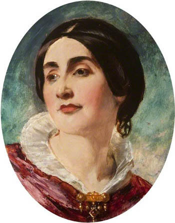 Caroline Norton by William Etty (1836)