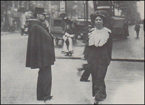 Christabel Pankhurst in Paris (September, 1912)