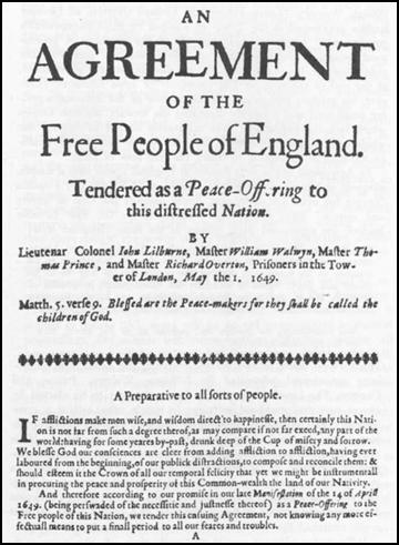 An Agreement of the People (May, 1649)