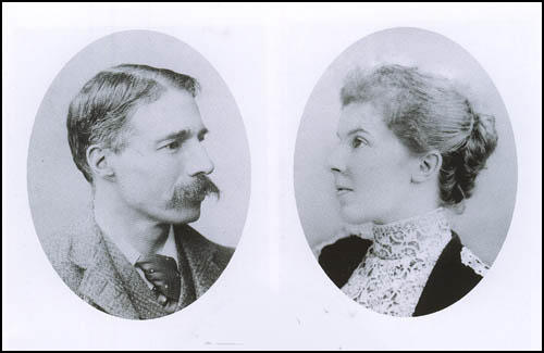 Cyril and Edith Ransome