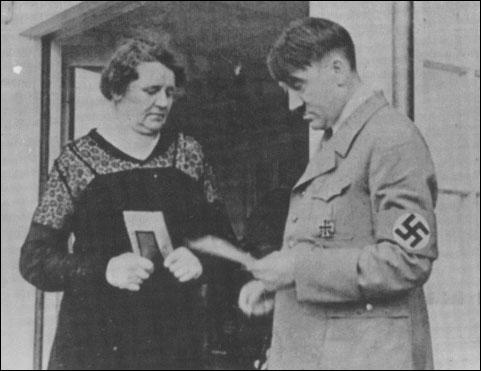 Adolf Hitler and his half-sister, Angela Raubal