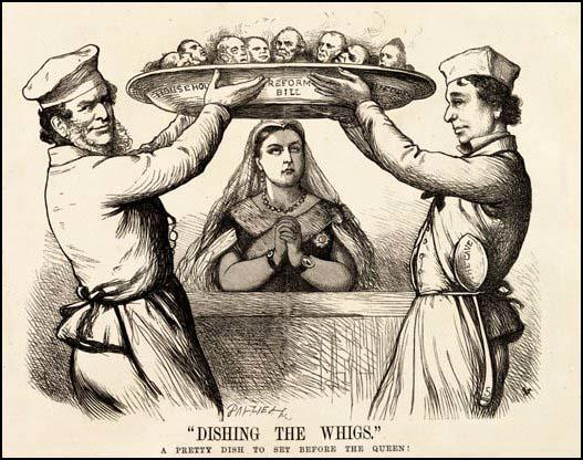 Dishing the Whigs, Fun Magazine (24th August, 1867)
