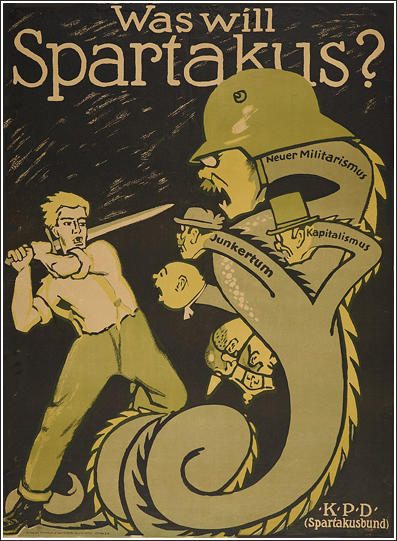 Spartacus League poster (1919)