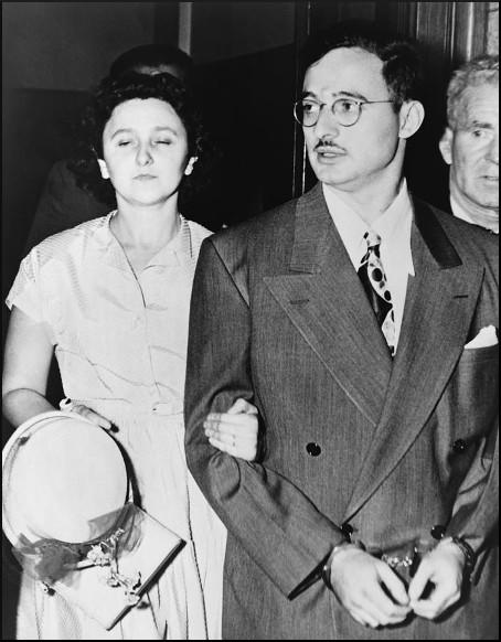 the julius and ethel rosenberg trial for espionage in 1951 In this 1951 photo, ethel and julius rosenberg, center, are shown during their trial for espionage in new york (ap.
