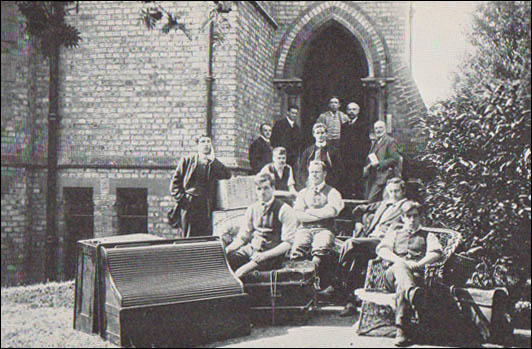 Some of the early arrivals at the Central Labour College (1909)