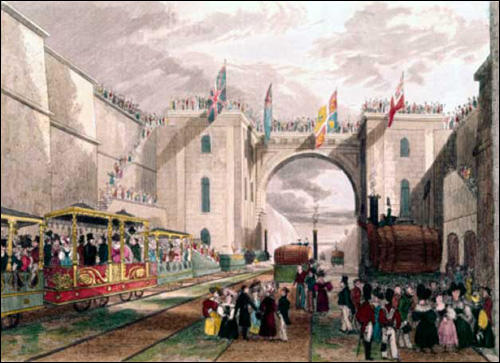 Isaac Shaw Junior, Opening of the Liverpool & Manchester Railway (1831)