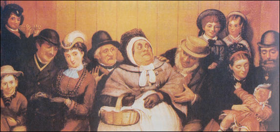"Painting entitled ""Seat for Five Persons"" (c. 1850)"