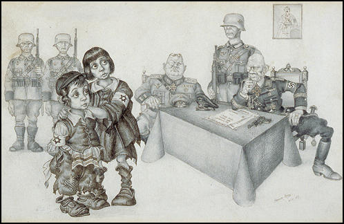 Arthur Szyk, Self-Portait (1945)