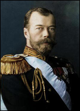 Russian tsar and his german wife