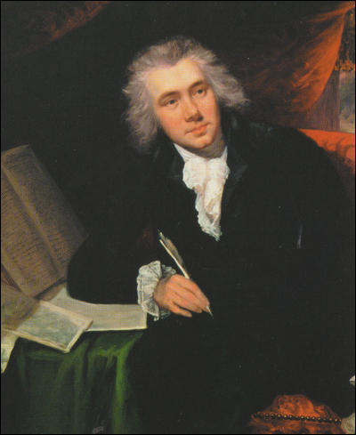 William Wilberforce by John Rising (1788)