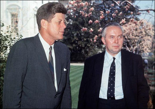 John F. Kennedy and Harold Wilson (March 1963)