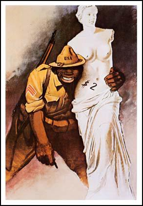 Black Bodies In Propaganda The Art Of The War Poster