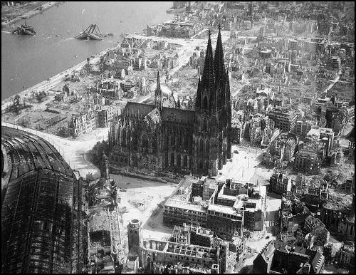 Cologne in May 1942.