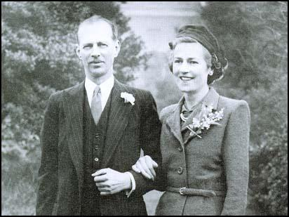 Miles Dempsey and Viola O'Reilly on their wedding day.