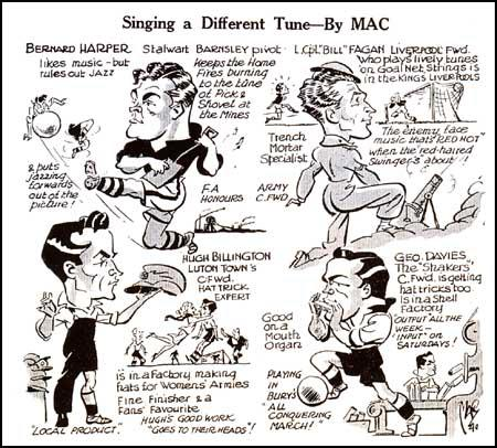 """Mac"" (Douglas Machin) drew this cartoon for The Topical Times (3rd February, 1940)"