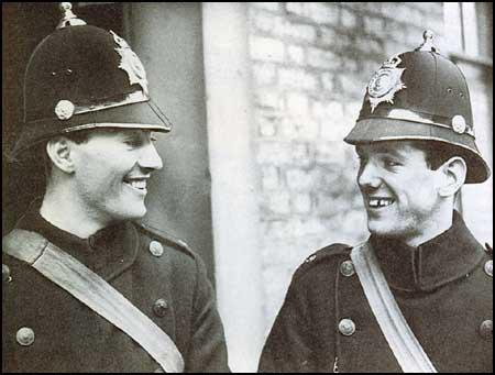 Jack Fairbrother and Willie Hamilton of Preston North Endjoined the Blackburn Police Force on the outbreak of the war.