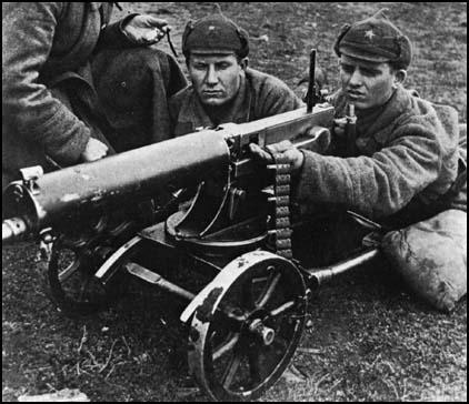 The Maxim-Gun being used by the Red Army in 1939.